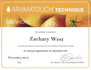 AromaTouch Technique 2013